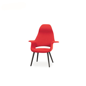 Eames Saarinen Style High Back Organic Chair