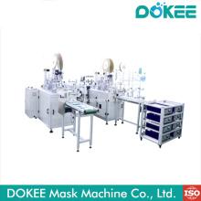 New Flat face mask machine production line