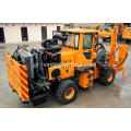 High Quality Hydraulic Guardrail pile Driving Machine