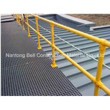 Corrimões de fibra de vidro para escadas, passarelas e rampas / GRP Grating