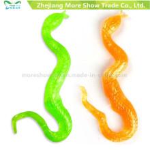 Promotional TPR Sticky Snake Toys Party Favors Novelty Toys