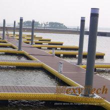 WPC-feste Decking- / Jachthafen-Dock-Belag-Boden: 140 * 25mm