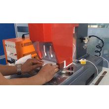 Máquina de máscara facial ultra-sônica para vedação de borda FFP3