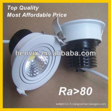 Dimmable 10w cob juno led downlight