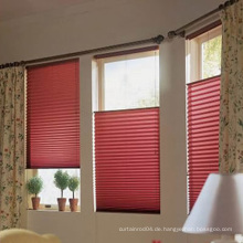 Bienenwabe blinds Gewebe-moderner Entwurfs-heiße Verkaufs-Spitze gefaltete Fenster-Vorhänge