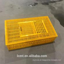 Adicionar gaiola de transporte de frango grosso caixa de circulação de gaiola de plástico de aves de capoeira