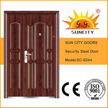 Iron Door Security Steel Door Price Iron Door Pictures for Home (SC-S044)