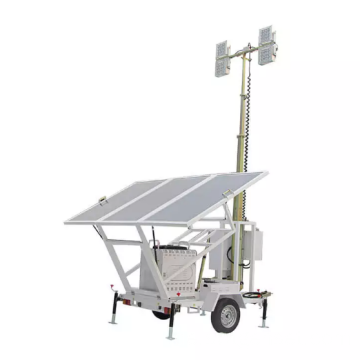 600W Solar Lighting Tower