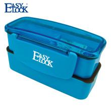 Easy Lock Doppelschicht Kinder Schule Bento Lunch Box für Kinder