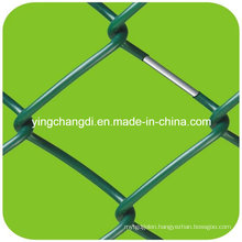 Diamond Mesh Chain Link Fence, Galvanized Chain Link Fence
