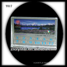 Cristal de foto colorida impressão Y017