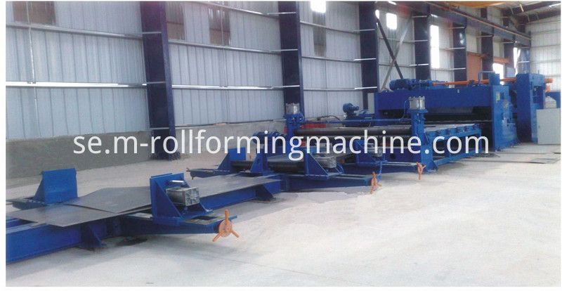 steel coil cutting machine