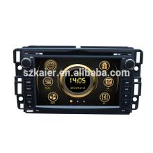Fábrica 2013 versão HIFI wince 6.0 GPS do carro para GMC Yukon / Acadia / Sierra com GPS / Bluetooth / Rádio / SWC / Virtual 6CD / 3G / ATV / iPod
