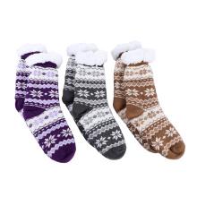 Factory Outlet Wool Woven Winter Home Yarn Socks Handmade