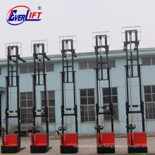 1ton 1.2 ton 1500kg 1.5 ton 2ton 2 m 3 m 4.5m 5m 5.5 m Bias Walkie Electric Stacker with CE Certificate