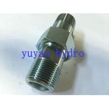 Raccord de connecteur hydraulique de Bsp 60 Deg Adapter