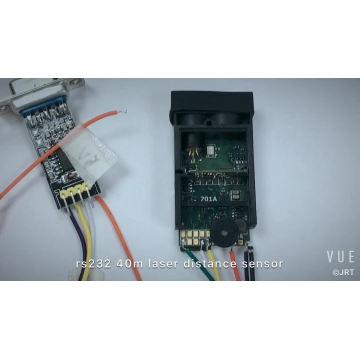 módulo infravermelho da distância do laser de 40 medidores da precisão