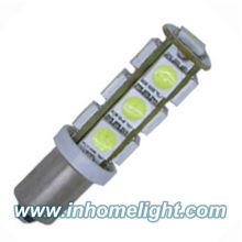 13pcs Ultra Bright 5050SMD BA9S a conduit des ampoules pour bateaux
