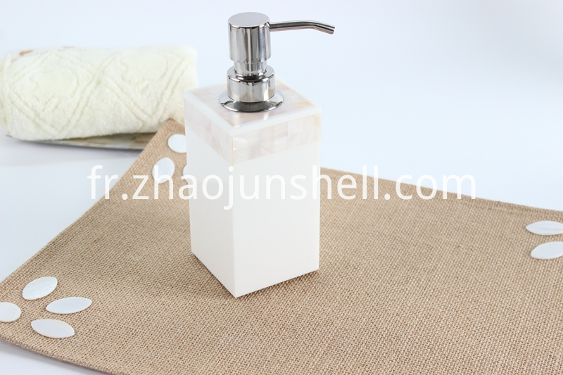 freshwater shell soap dispenser
