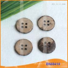 Boutons de noix de coco naturels pour le vêtement BN8041