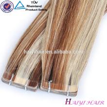 Extensiones de pelo de la cinta inferior gruesa al por mayor populares en América