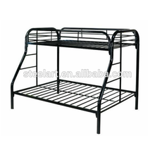Home bed style general use Queen size steel bed design