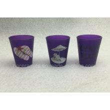Neon Color Shot Glass, Purple Color Shot Glass