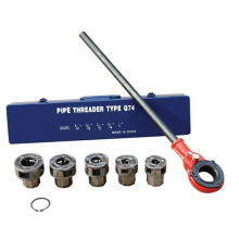 "Hongli ratchet pipe threading kits /ratchet die stock 1/4"" to 1 ""(HLD-Q74)"