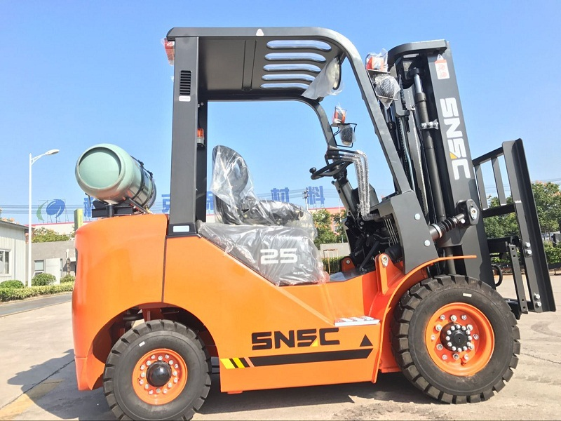 2.5 ton lpg gas forklift to Mexico from sheri (1)