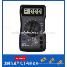 Multímetro digital portátil DT820D con zumbador popular