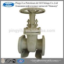 Rússia óleo de aço padrão carbono flangeado, tubo de água da indústria válvula de portão