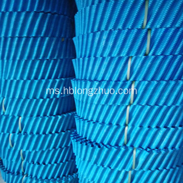 PVC PP Circle Wave Cooling Tower Menara