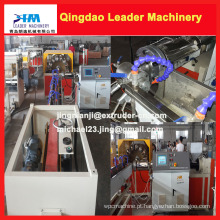 Máquina reforçada da produção da mangueira do PVC do controle do PLC de Siemens