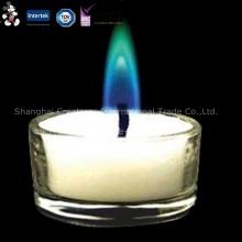 Diverses bougies bon marché personnalisées par matière première modèle écologique