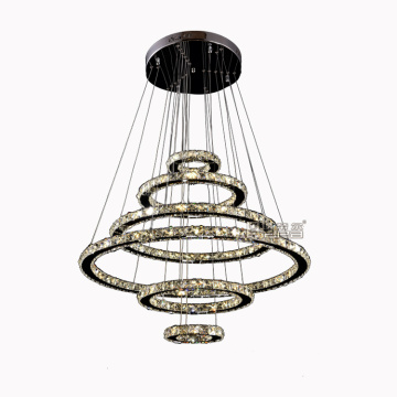 kroonluchters led decoratieve lampen Ronde Crystal Modern