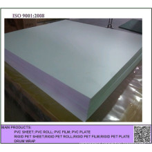 Embossed White Opaque PVC Sheet for Offset Printing