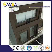 Latest Design Cheap Metel Double Glazing French Aluminum Sliding Window