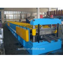 deck floor forming machine