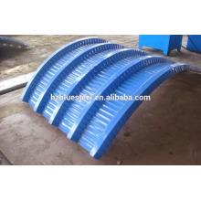 Maschinen-Bogen-Metall-Dachblech-Platten-Biege-Crimp-Maschine Archy Dachblech gewölbte gewölbte Aluminium-Dachziegel-Maschine