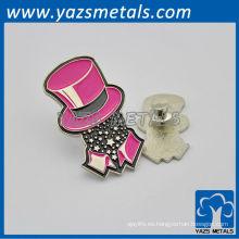 personalizar KTV VIP placas / pin insignias con diseño personal, diseño de logotipo