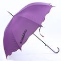 Parapluie droit à poignée courbe à ouverture pure (BD-74)