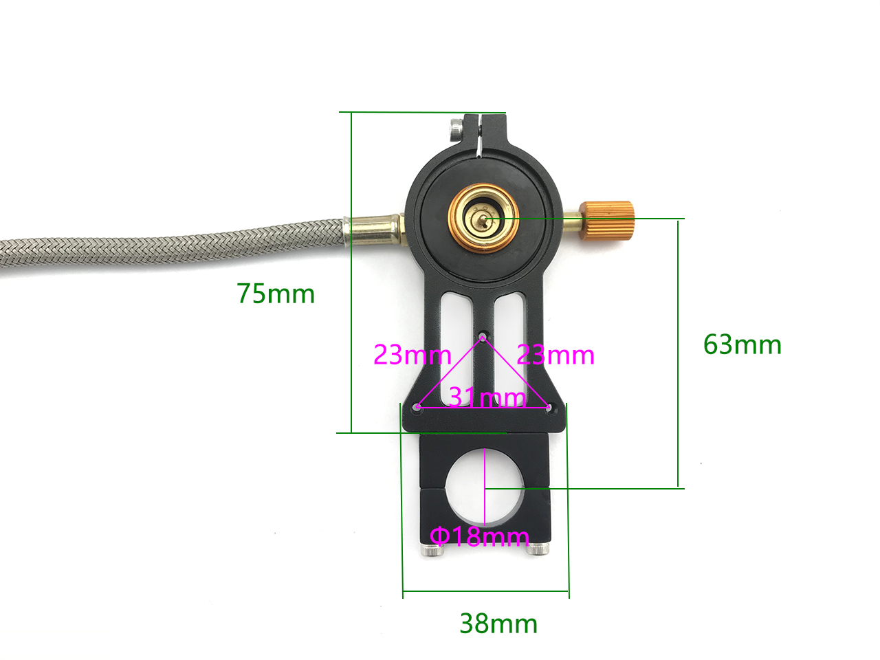 Gas tank fixing connector for Agriculture drone Mist Sprayer System
