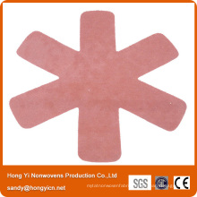 Heat Insulation 100%Polyester Nonwoven Fabric Pan Mat, Pan Protector