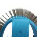 steel pins brush glove