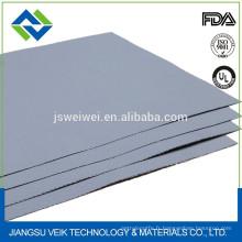 Chine tissu de fibre de verre enduit de silicone avec la super largeur