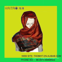 Le meilleur foulard féminin féminin en jacquard en hiver