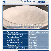 superplasticizer pce/snf/smf based water reducer