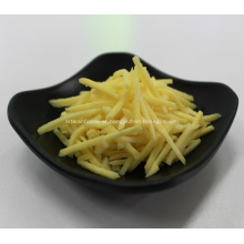 IQF Frozen Shredded Yellow Ginger