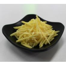 IQF congelada gengibre amarelo ralado