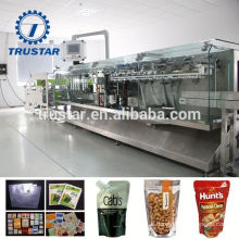 stainless steel food vacuum packing pouch machine